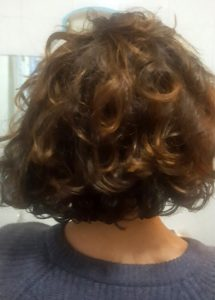 Giulia's hair