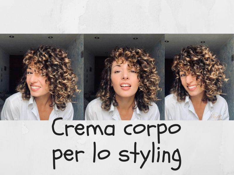 body cream for curls