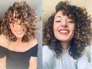 capelli ricci volume