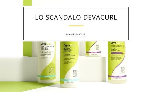 DevaCurl the scandal