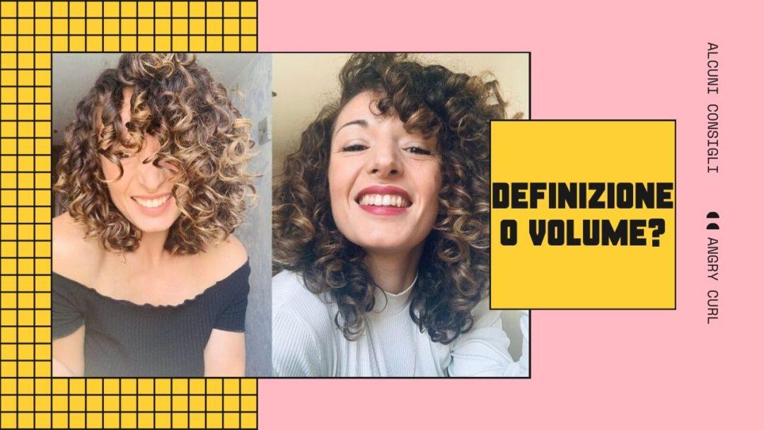 Capelli Ricci Volume O Definizione Angry Curl Capricciosa