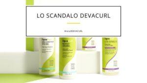 DevaCurl the scandal