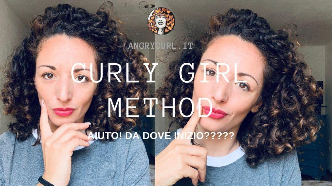curly girl method Italia
