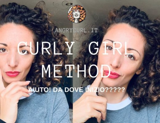 curly girl method Italia